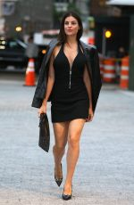 JULIA RESTOIN ROITFELD Arrives at Alexander Wang Fashion Show in New York 06/03/2018
