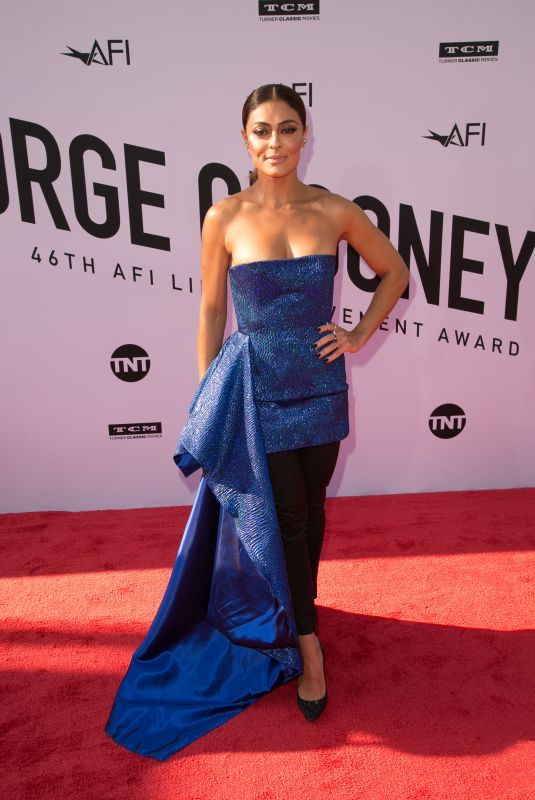 JULIANA PAES at American Film Institute's 46th Life Achievement Award Gala Tribute to George Clooney in Hollywood 06/07/2018
