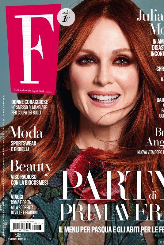 JULIANNE MOORE in F magazine, April 2018