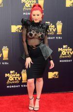JUSTINA VALENTINE at 2018 MTV Movie and TV Awards in Santa Monica 06/16/2018