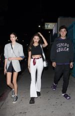 KAIA GERBER and MADISON BEER Night Out in Los Angeles 06/19/2018