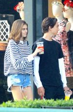 KAIA GERBER and Travis Jackson Out in Los Angeles 06/21/2018