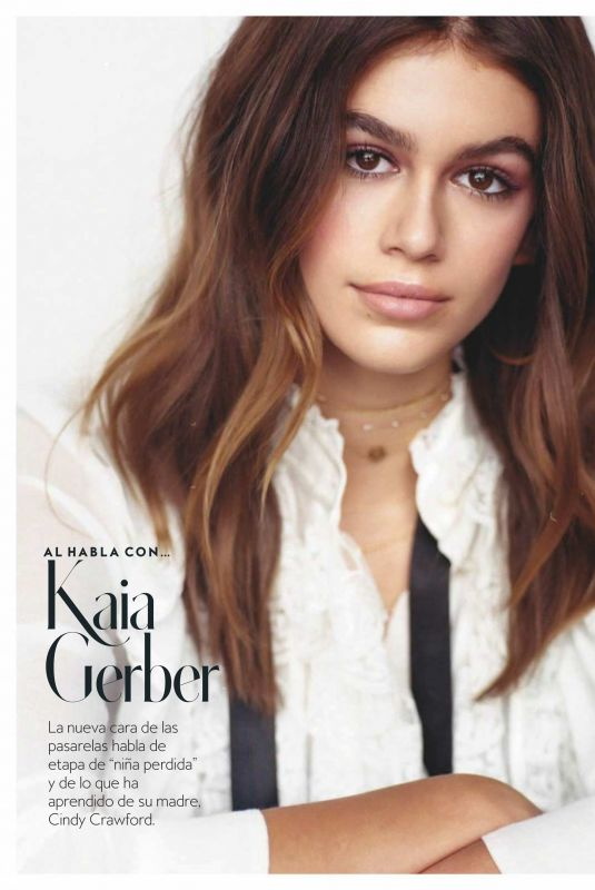 KAIA GERBER in Instyle Magazine, Spain July 2018 Issue
