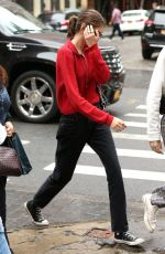 KAIA GERBER Out and About in New York 06/10/2018