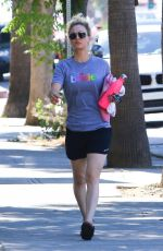 KALEY CUOCO Heading to a Gym in Los Angeles 06/25/2018
