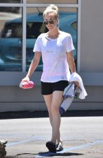 KALEY CUOCO Leaves Yoga Clss in Studio City 06/27/2018