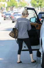 KALEY CUOCO Out and About in Studio City 06/06/2018