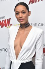 KARA MCCULLOUGH at Ant-man and the Wasp Premiere in New York 06/27/2018
