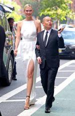 KARLIE KLOSS and Jason Wu Heading to 2018 CFDA Fashion Awards in New York 06/05/2018