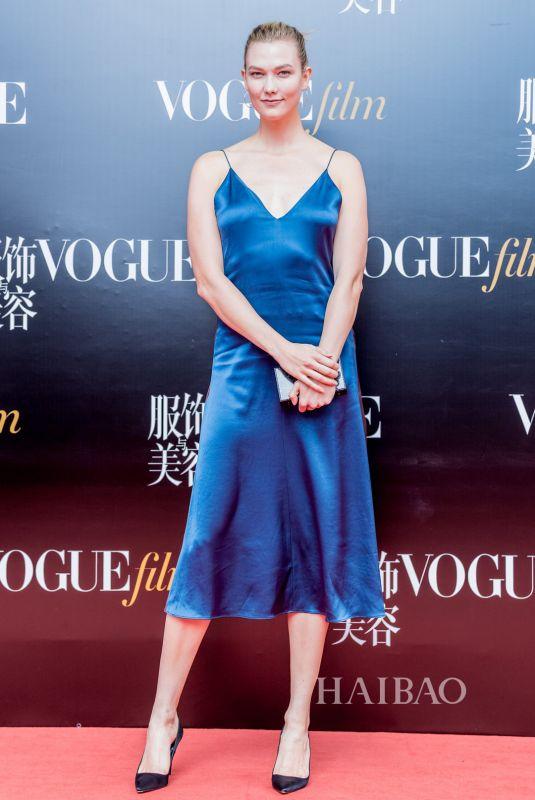 KARLIE KLOSS at 2018 Vogue Film Gala in Shanghai 06/15/2018