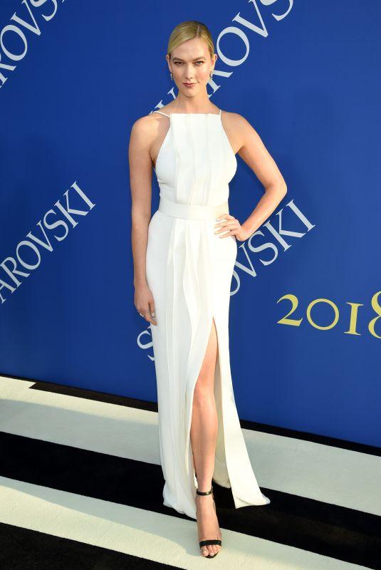 KARLIE KLOSS at CFDA Fashion Awards in New York 06/05/2018