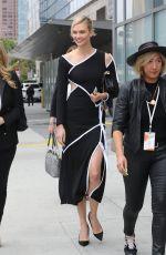 KARLIE KLOSS Heading to Staples Center in Los Angeles 05/31/2018