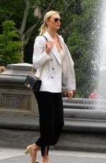 KARLIE KLOSS Out at Washington Square Park in New York 06/07/2018