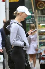 KARLIE KLOSS Out in New York 06/04/2018