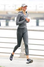 KARLIE KLOSS Out Running in New York 06/08/2018
