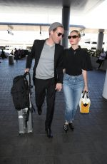 KATE BOSWORTH and Michael Polish at LAX Airport in Los Angeles 06/28/2018