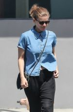 KATE MARA Out for Lunch at Crossroads in West Hollywood 06/14/2018