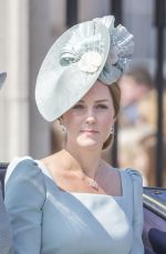 KATE MIDDLETON at Trooping the Colour Ceremony in London 06/09/2018