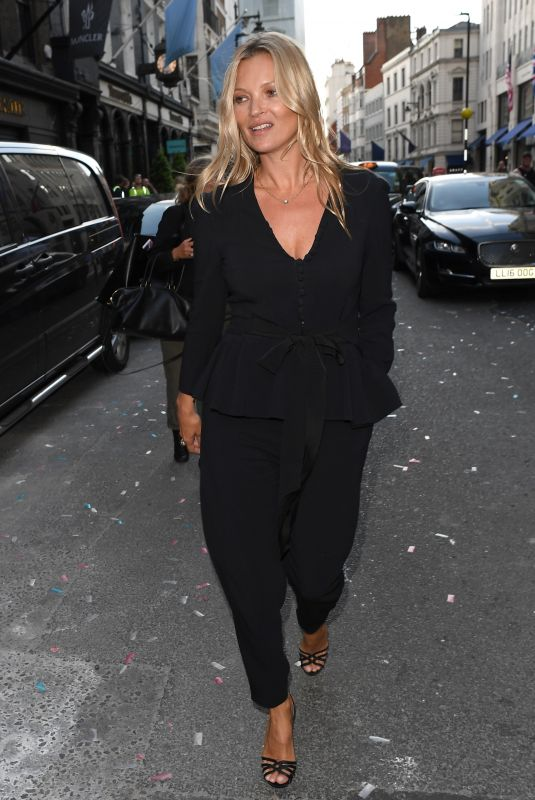 KATE MOSS at Stella McCartney Store Opening on Bond Street in London 06/12/2018