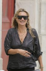KATE MOSS, KELLY OSBOURNE and GWENDOLINE CHRISTIE Out in Paris 06/24/2018