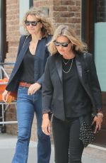 KATE MOSS Leaves Greenwich Hotel in New York 06/06/2018