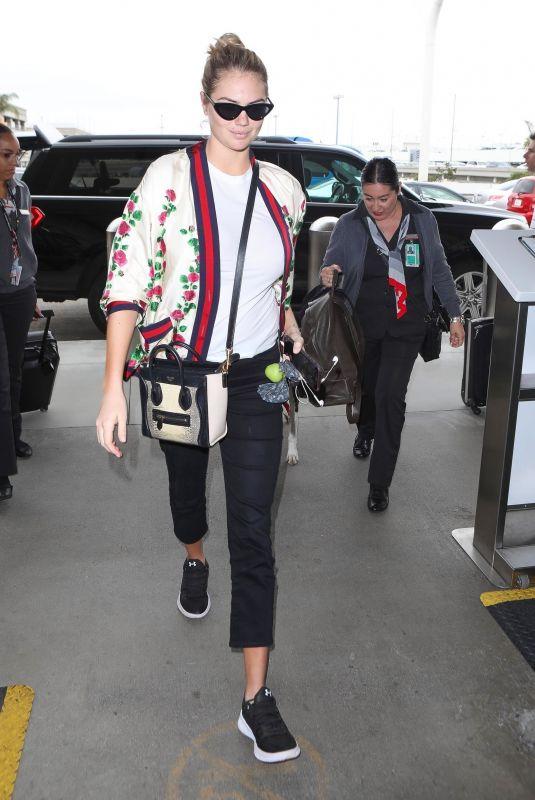 KATE UPTON at Los Angeles International Airport 06/06/2018