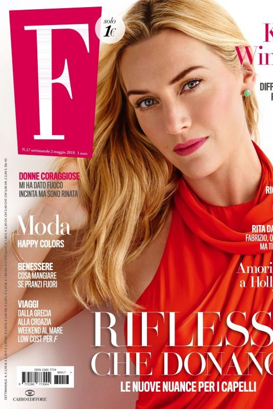 KATE WINSLET in F Magazine, May 2018 Issue