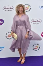 KATEINA SINAIKOVA at WTA Tennis on the Thames Evening Reception in London 06/28/2018