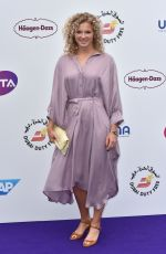 KATEINA SINAIKOVA at WTA Tennis on the Thames Evening Reception in London 06/28/2018