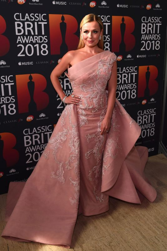 KATHERINE JENKINS at Classic Brit Awards in London 06/13/2018
