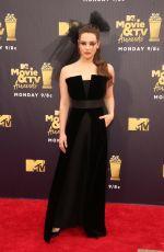 KATHERINE LANGFORD at 2018 MTV Movie and TV Awards in Santa Monica 06/16/2018