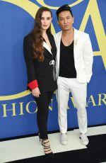 KATHERINE LANGFORD at CFDA Fashion Awards in New York 06/05/2018