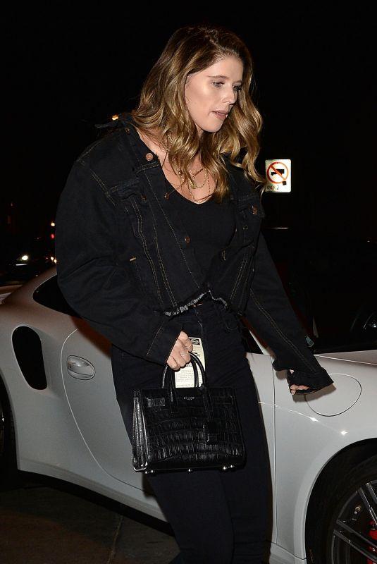 KATHERINE SCHWARZENEGGER Night Out in Los Angeles 06/01/2018