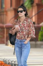 KATIE HOLMES in Jeans Out in New York 06/11/2018