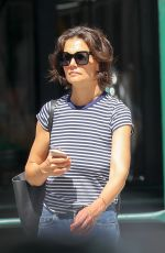 KATIE HOLMES Out and About in New York 06/29/2018