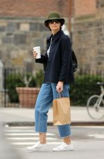 KATIE HOLMES Out in New York 06/01/2018