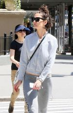 KATIE HOLMES Out in New York 06/09/2018