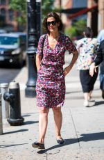 KATIE HOLMES Out in New York 06/28/2018