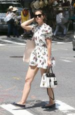 KATIE HOLMES Out Shopping in New York 06/09/2018