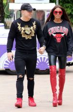 KATIE PRICE and Kris Boyson Out in London 06/25/2018