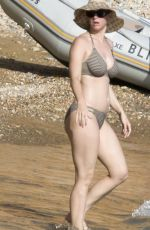 KATY PERRY in Bikini at a Beach in Ibiza 06/27/2018