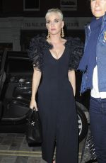 KATY PERRY Night Out in London 06/16/2018