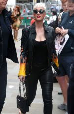 KATY PERRY Out and About in London 06/13/2018