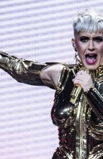 KATY PERRY Performs at O2 Arena in London 06/15/2018