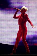 KATY PERRY Performs on Witness Tour at Liverpool Echo Arena 06/21/2018