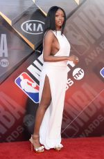 KAYLA BRIANNA at 2018 NBA Awards at Barker Hangar in Santa Monica 06/25/2018