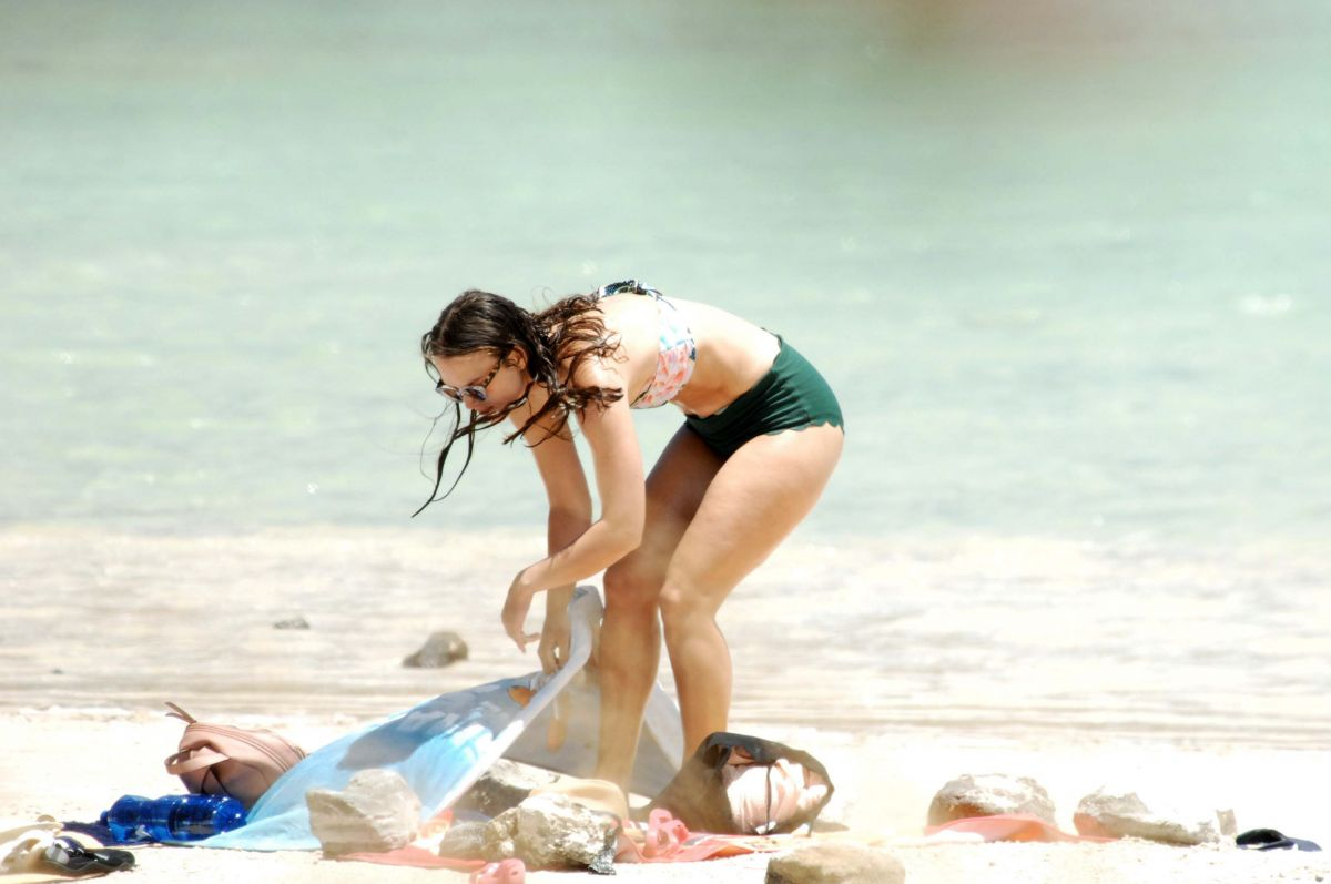 KEIRA KNIGHTLEY in Bikini at a Beach in Pantelleria 06/29 ...