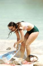 KEIRA KNIGHTLEY in Bikini at a Beach in Pantelleria 06/29/2018