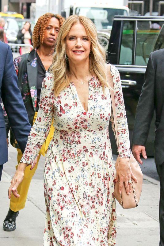 KELLY PRESTON Arrives at Good Morning America in New York 06/11/2018