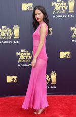 KELSEY ASBILLE at 2018 MTV Movie and TV Awards in Santa Monica 06/16/2018
